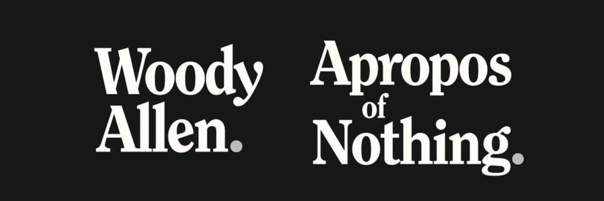 Notes on Woody Allen'sMemoir